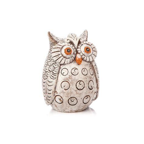 owls o o owl home decor candle owl 10 cm home decor sold at europosters