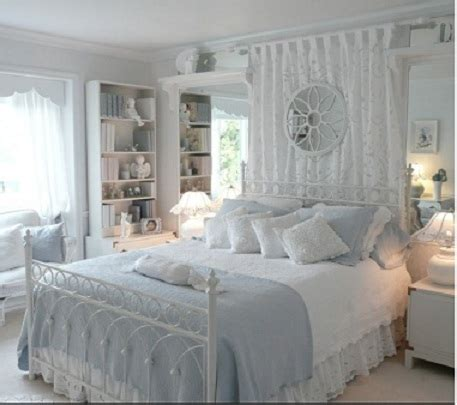 blue and white shabby chic bedroom white archives country design homecountry design home