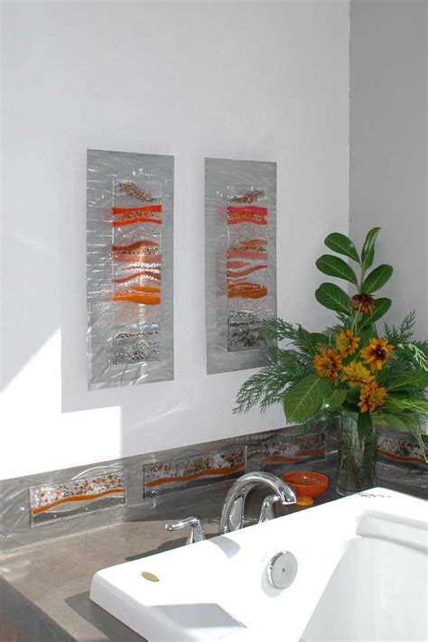 wall decor glass 25 best ideas about glass wall on fused