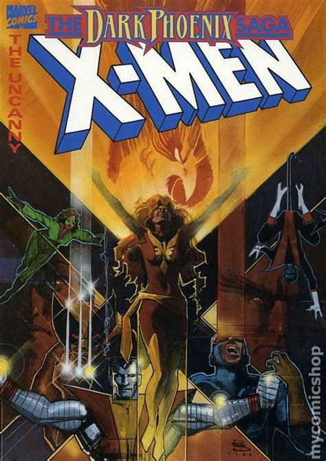 x men dark phoenix saga uncanny x men the dark phoenix saga tpb 1984 marvel 1st edition comic books