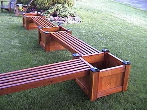 planters bench pdf diy planter benches download minwax epoxy wood filler 187 plansdownload