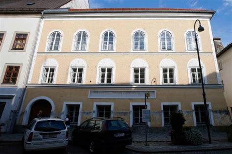hitler born house austria plans to take over house where hitler was born