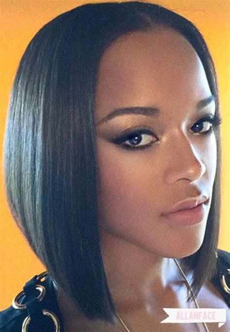 black people short hair style sleek in front curly back sleek bob bewada com