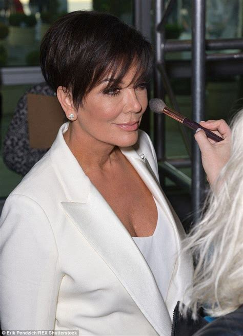 photo of kim kardashians mothers hairstyle khloe k wears gaping gown with kylie and kris jenner to