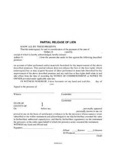 partial lien waiver template partial release of lien hashdoc
