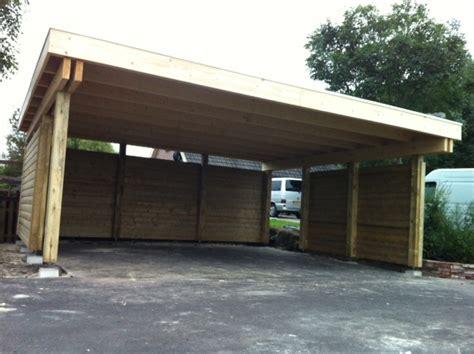 carport holz 4x4 houten carport 680x600 geplaatst bedum