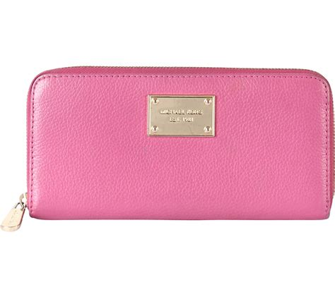 Dompet Michael Kors Mk Travel Wallet Original 1 michael kors pink wallet