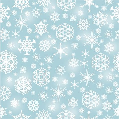 Snowflake Pattern Illustrator | snowflake seamless pattern free vector in adobe