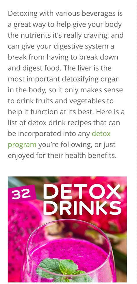 Luck Detox by 32 Detox Drinks Luck Musely