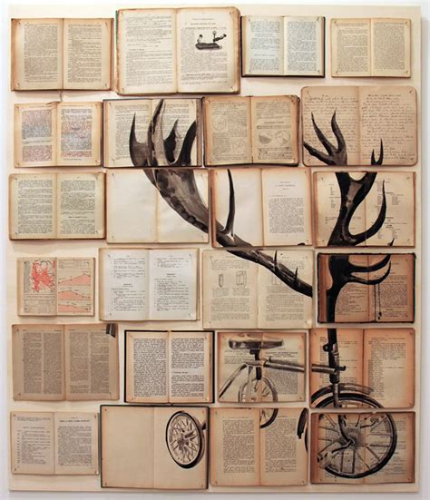 wall art collage book paintings by ekaterina panikanova colossal
