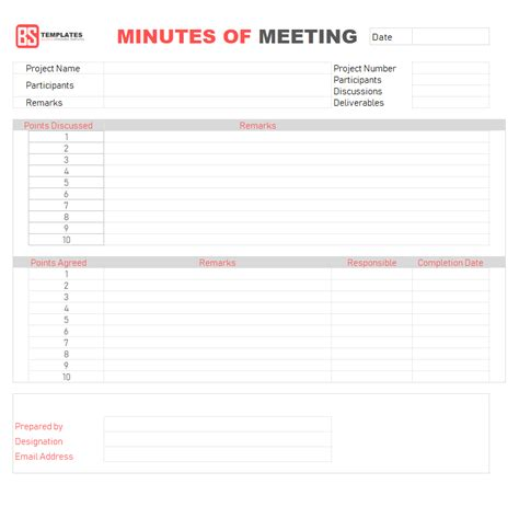 template template for meeting minutes format sales contact sheet