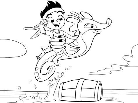 dibujos para pintar jake y los piratas dibujos para colorear de jack y los piratas de nunca jamas