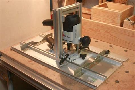 router table lift and fence festool by mafe