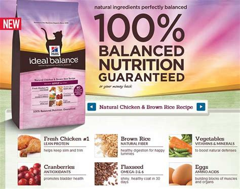hill s ideal balance food ideal balance feline with chicken brown rice 1 58kg lazada malaysia