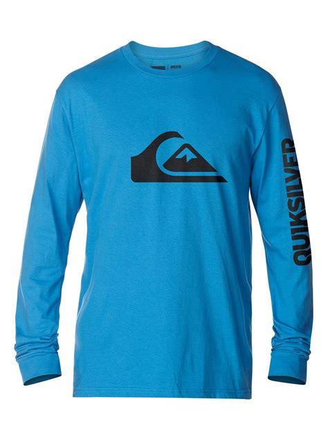 Tshirt Quiksilverbajukaos Sleeve Quiksilver Putih mountain wave sleeve t shirt aqyzt03077 quiksilver