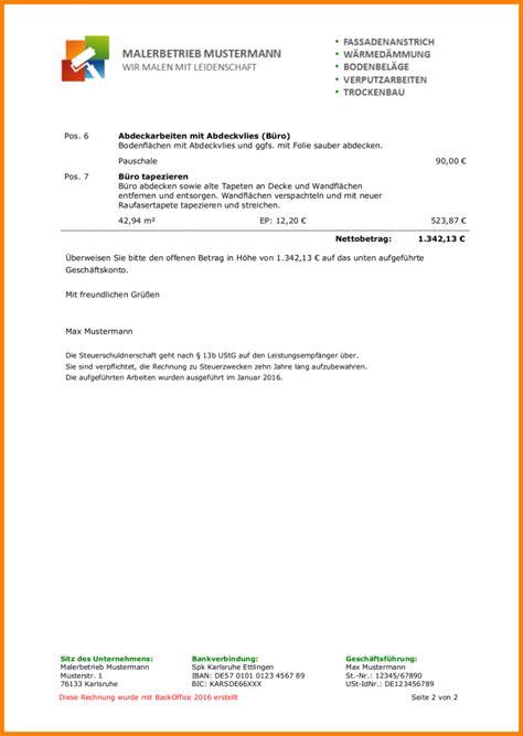 Rechnung Schreiben Privatperson Schweiz Rechnung Arbeitsstunden Mustermusterrechnung Bildjpg Beispiel Einer Rechnungsvorlage Fr Die