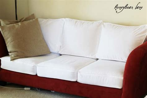 making a couch slipcover how to make a cushion cover and other slipcover tutorials