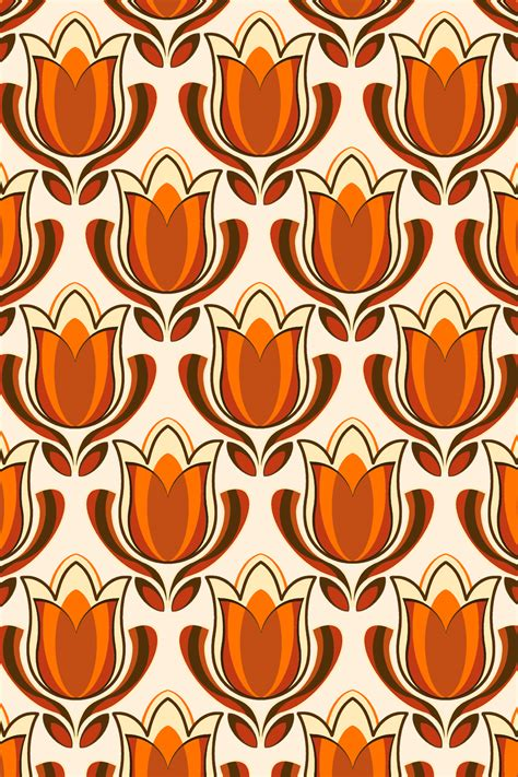 printable retro images retro tulip print by pinkandfluffy on deviantart
