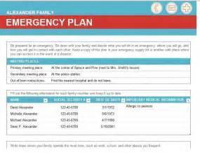 Emergency Communications Plan Template by Emergency Preparedness Template Ebook Database