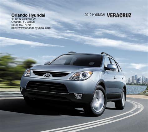Hyundai Dealers In Orlando by 2012 Hyundai Veracruz For Sale Fl Hyundai Dealer Orlando