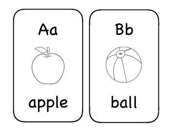printable alphabet flash cards black and white black and white alphabet flashcards by mrs welchs