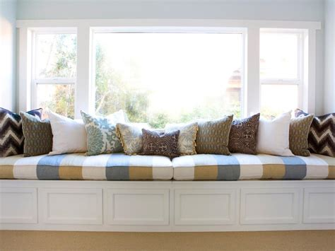 bedroom window bench decorative storage solutions hgtv