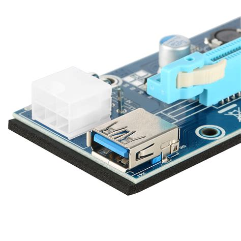 Pci Express Pcie 1x To 16x Extension Versi 006 1 usb 3 0 pci e pci express extension cable 1x to 16x extender sales tomtop
