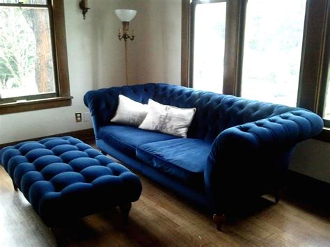 Blue Leather Chair And Ottoman Design Ideas Awesome Modern Living Room Decorating Ideas With Blue Leather Sofa Set Iwemm7