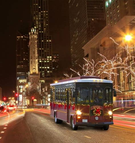 Midwest City Lights by Midwest Travel Tour The City S Lights On A Chicago Trolley