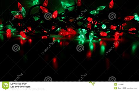 green and gold lights and green lights royalty free stock
