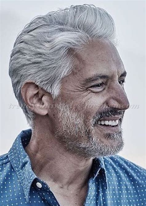 over 50 male gray hair hairstyles for men over 50 slicked back hairstyle for