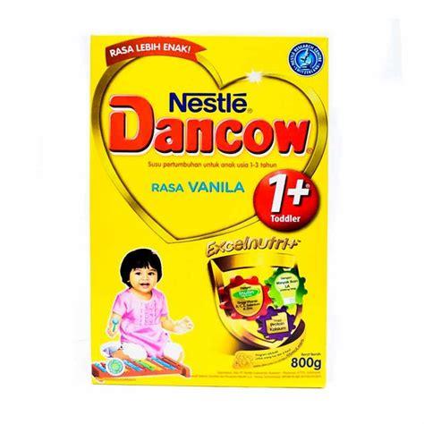 Dancow 3 Rasa Vanila 800 Gram jual dancow 1 vanila pertumbuhan 800 g harga kualitas terjamin blibli