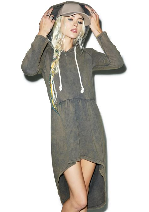 Dress Hodie malone hoodie dress dolls kill
