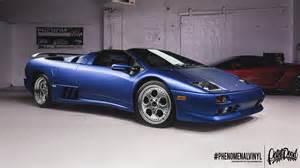 Lamborghini Diablo Lamborghini Diablo Vt In Satin Blue Phenomenalvinyl