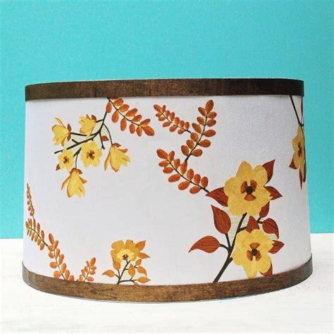 Decoupage Medium - mid century inspired lshade with martha stewart crafts