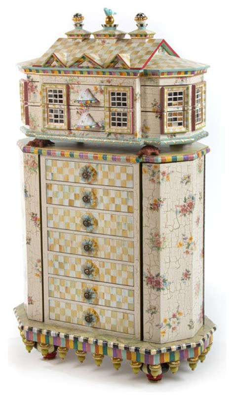 Childs Armoire by Chicken Palace Jewelry Armoire Mackenzie Childs