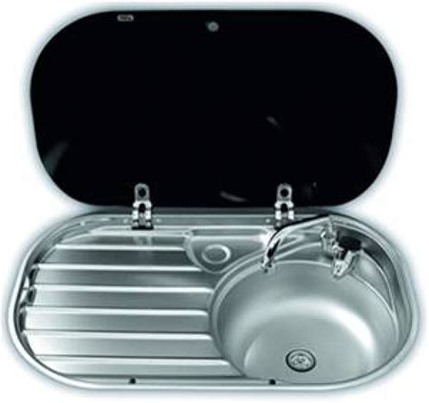 caravan kitchen sinks smev 8306 sink and drainer unit for caravans and motorhomes