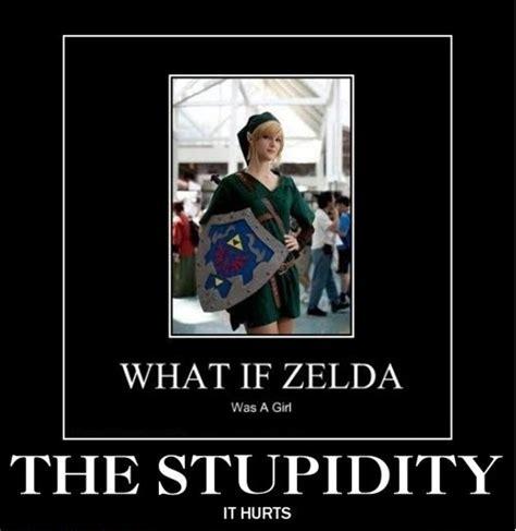 Funny Zelda Memes - zelda girl link meme
