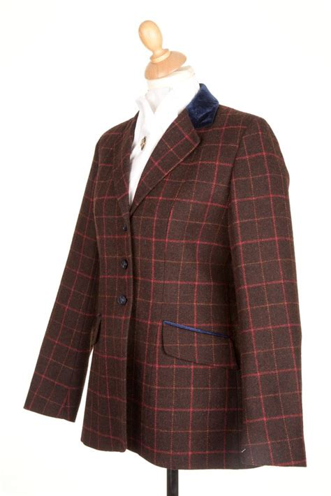 Jaket Ridding tweed jackets show jackets