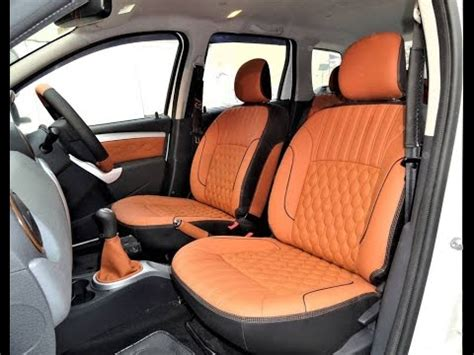 Interior Accessories Stray Designs by Renault Duster Car Seat Covers Designs Duster Interior