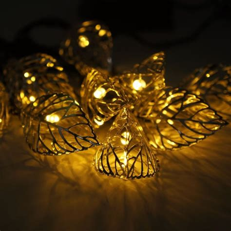 leaf string lights image gallery leaf string lights