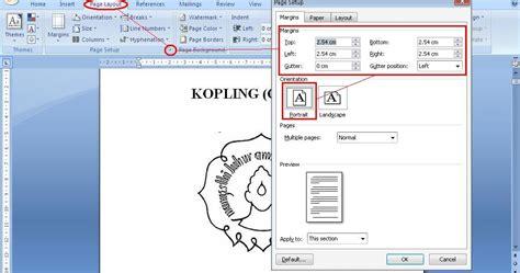 format skripsi usd blog pendidikan cara membuat dan mengatur posisi nomor