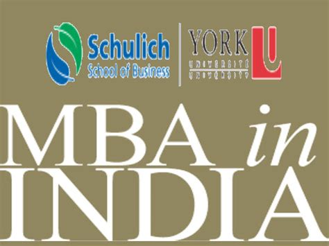 Mba Electives In India by Trending Mba Course Schulich Business School Hyderabad