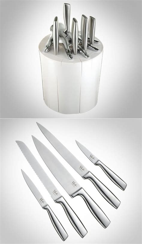 creative kitchen knives 25 set of extraordinary knives architecture design