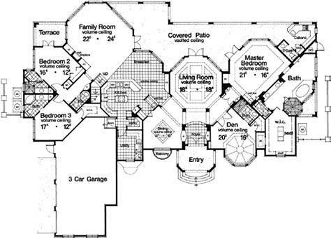 Hexagonal House Plans by Plan 63186hd Grand Hexagonal Living Room Living Rooms