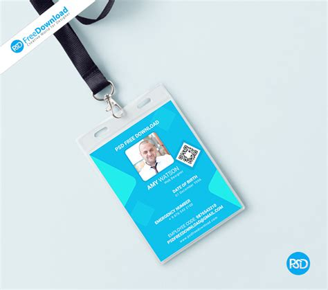 office identity card templates office identity card free psd psd free