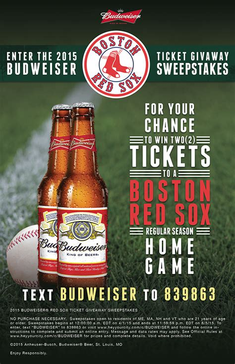 Anheuser Busch Sweepstakes - anheuser busch point of sale posters on philau portfolios