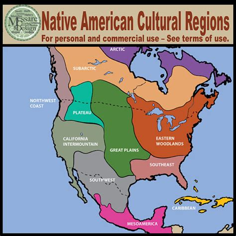american tribe map by regions items similar to map clipart america