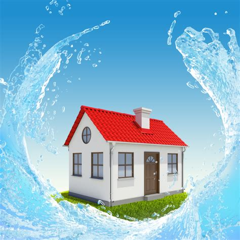 What Is Basement Waterproofing - house surrounded by water