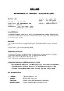 Sle Of Resume Profile by Fashion Designing Resume Sales Designer Lewesmr